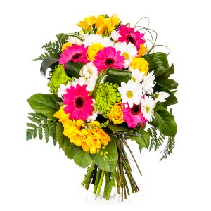 Mixed mini Gerberas and Roses