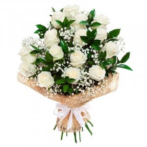 Magical white Roses