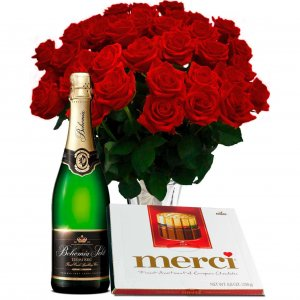 Red Roses gift set