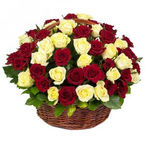 Stunning Rose Basket