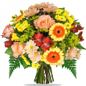 Mixed Mango Orage Bouquet