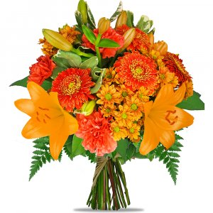 Flame surprize Bouquet